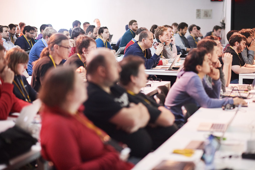 Git Merge audience