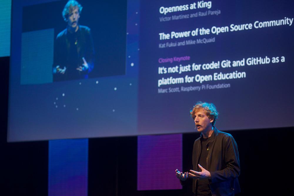 Chris Wanstrath at GitHub Satellite