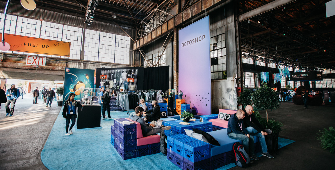 The Octoshop at GitHub Universe
