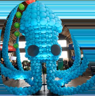 Kraken balloon display