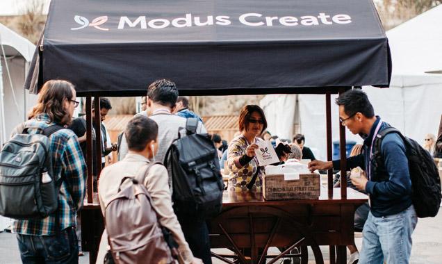 Modus Create tent
